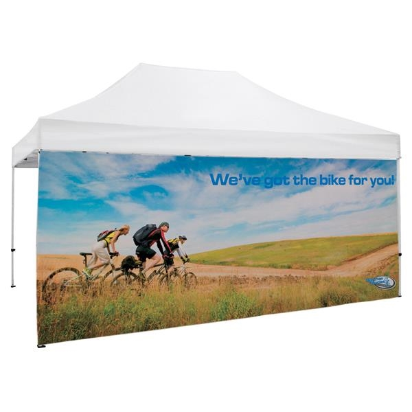 15' Tent Full Wall (Dye Sublimated, Single-Sided)