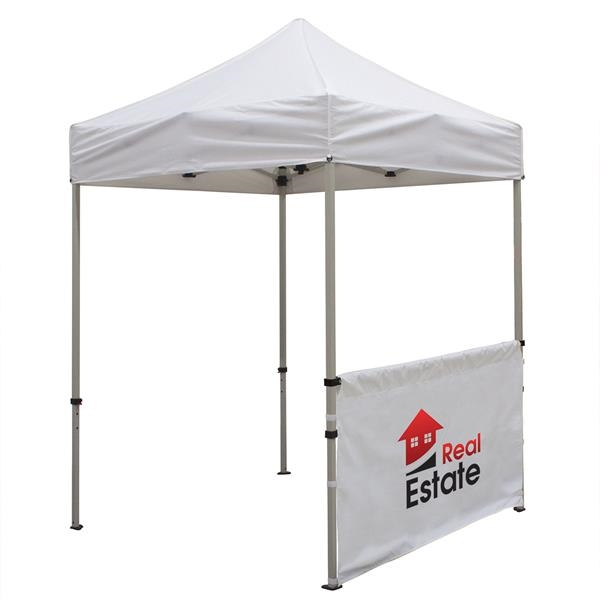 6' Deluxe Tent Half Wall Kit (Full-Color Imprint)