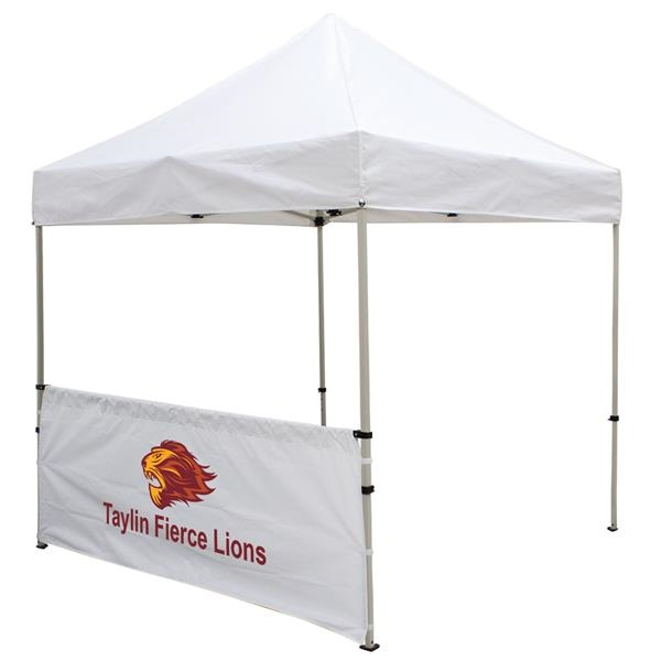 8' Deluxe Tent Half Wall Kit (Full-Color Imprint)