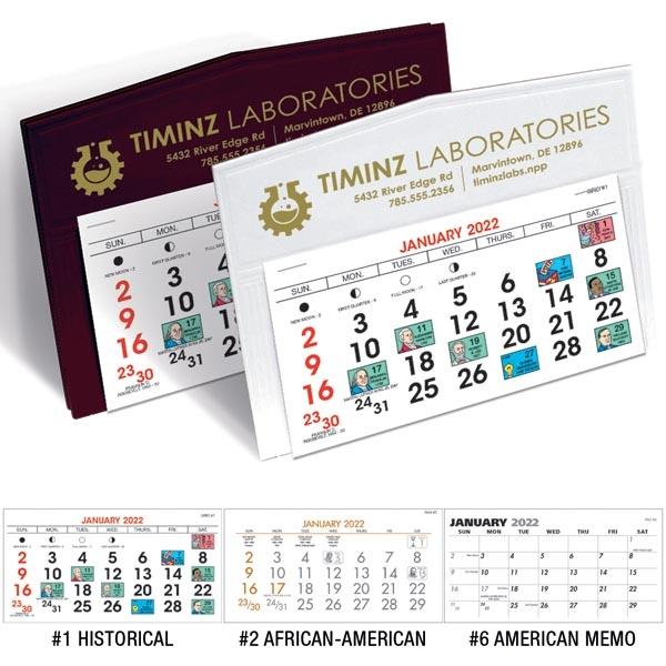 Legacy 2022 Desk Calendar