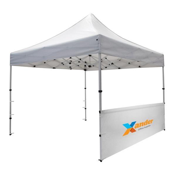 10' Compact Tent Half Wall Kit (Full-Color Imprint)