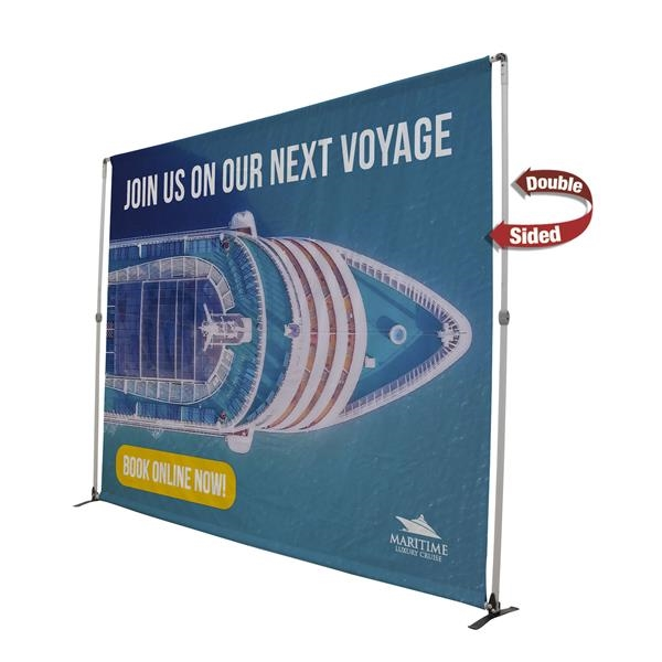 8' Bravo Expanding Display Kit (double-sided)