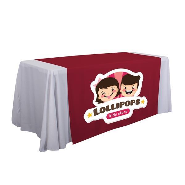 "57""  LazerLine Table Runner Full-Color Front Only"