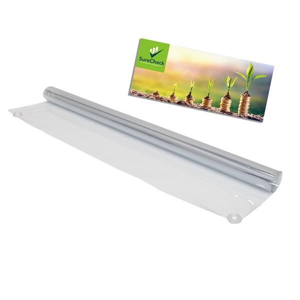 3' FrameWorx Banner Display-Clear Vinyl & Imprinted Cling