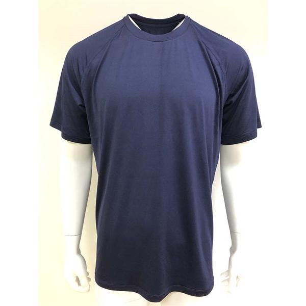 High quality light heather short sleeve shirt,running shirt