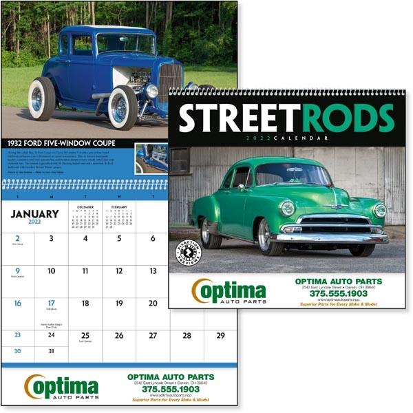 Street Rods 2022 Calendar