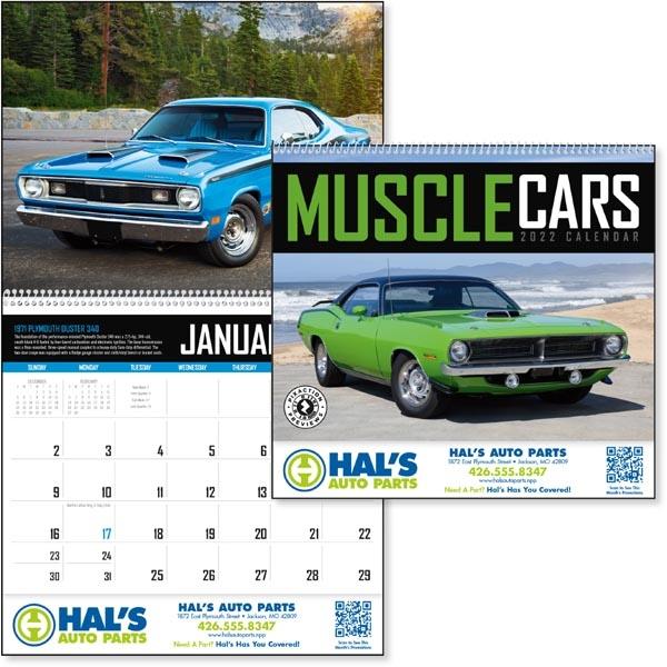 Muscle Cars 2022 Calendar