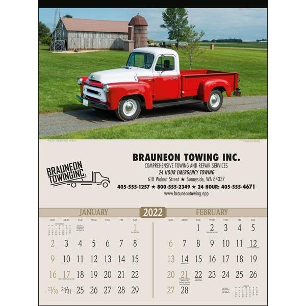Antique Trucks 2022 Calendar