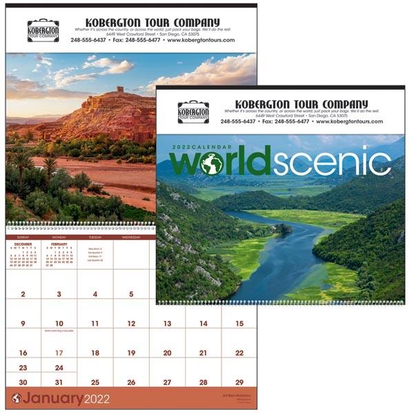 World Scenic 2022 Calendar