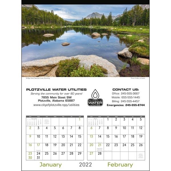 Scenes of America 2022 Calendar