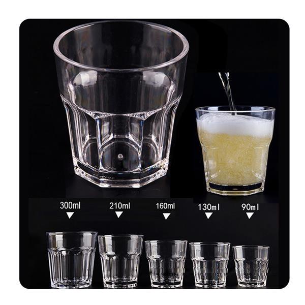Clear Acrylic Water Tumblers