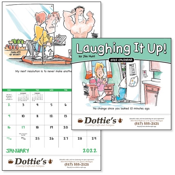 Stapled Laughing It Up! 2022 Calendar