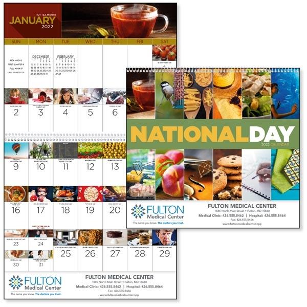 Spiral National Day 2022 Calendar