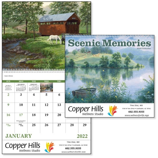 Spiral Scenic Memories 2022 Appointment Calendar