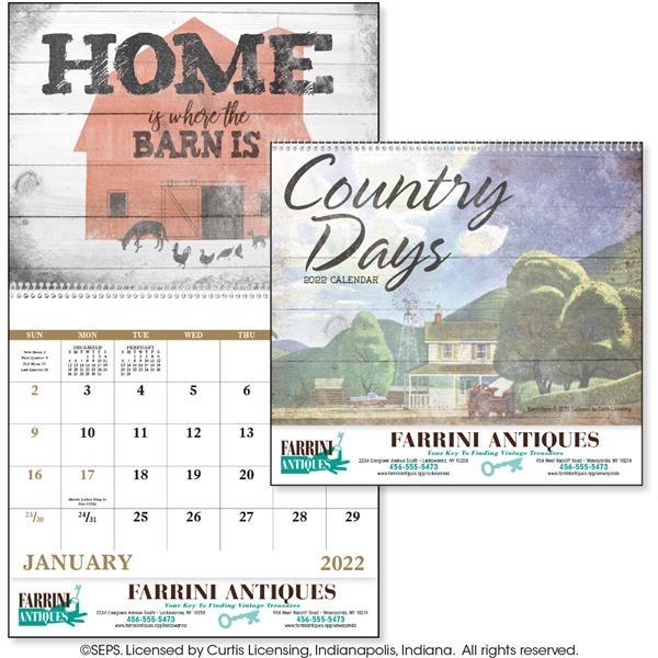 Good Value Country Days 2022 Calendar