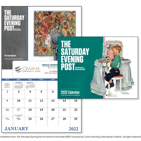 The Saturday Evening Post- Window 2022 Appointment Calendar