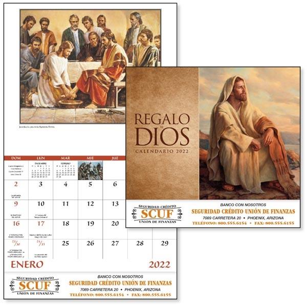 Stapled Regalo de Dios 2022 Appointment Calendar