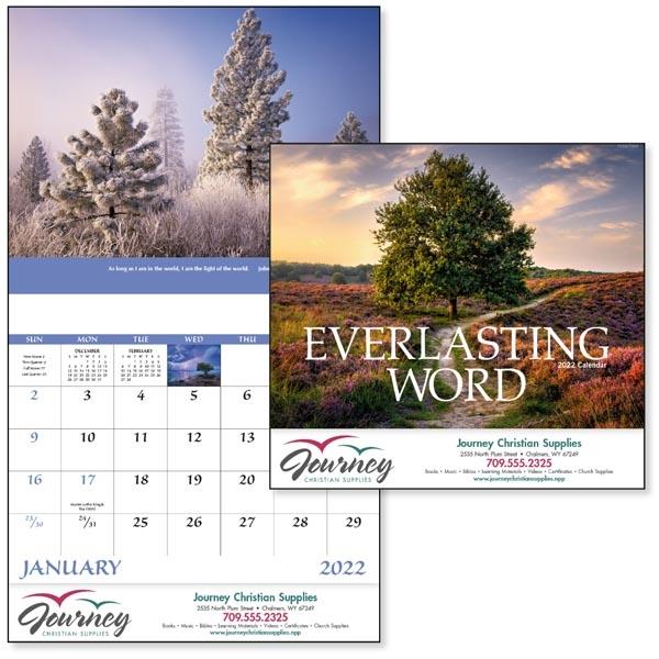 Stapled Everlasting Word Religious 2022 Appointment Calendar