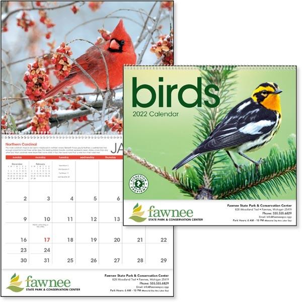 Birds 2022 Calendar