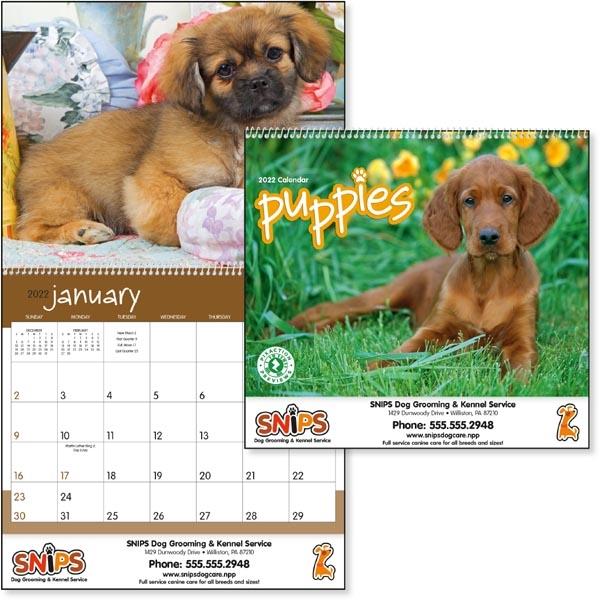 Puppies 2022 Calendar