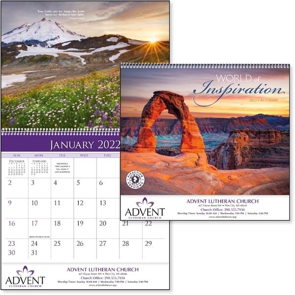World of Inspiration 2022 Calendar