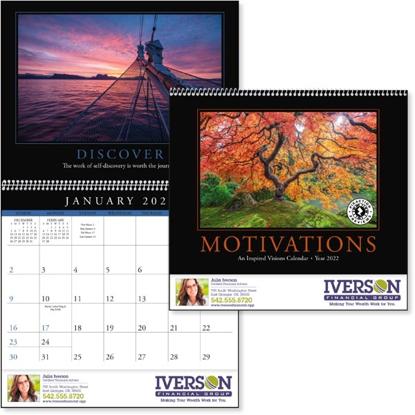 Motivations 2022 Calendar