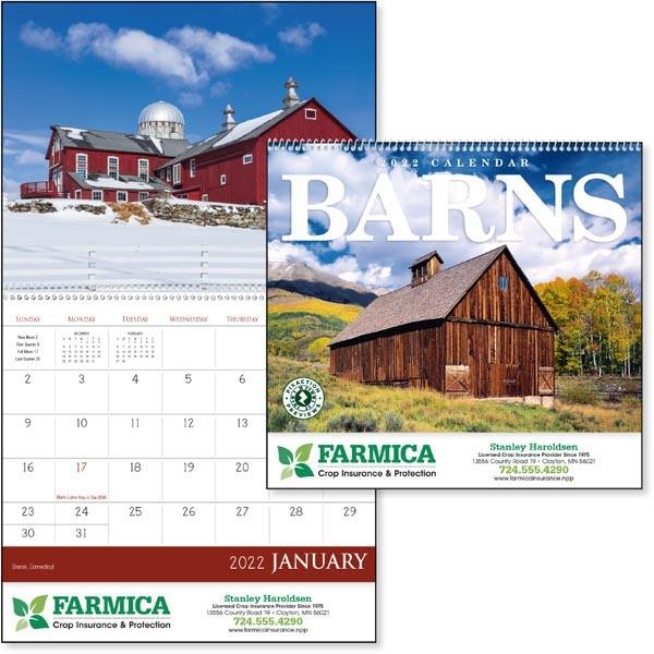 Barns 2022 Calendar