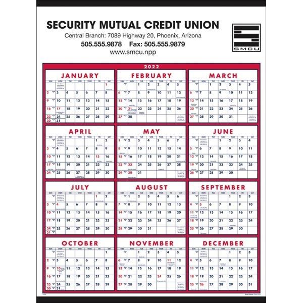 Span-A-Year 2022 Calendar