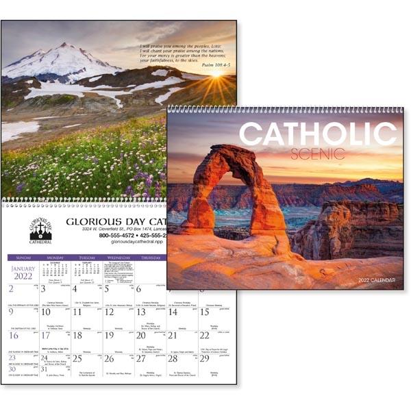 Catholic Scenic 2022 Calendar