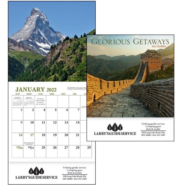 Glorious Getaways Mini 2022 Appointment Calendar