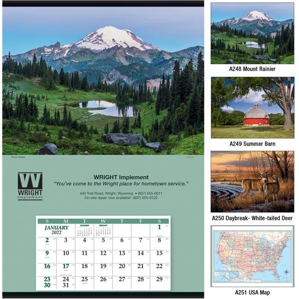 Jumbo 2022 Hanger 12-Month Calendar