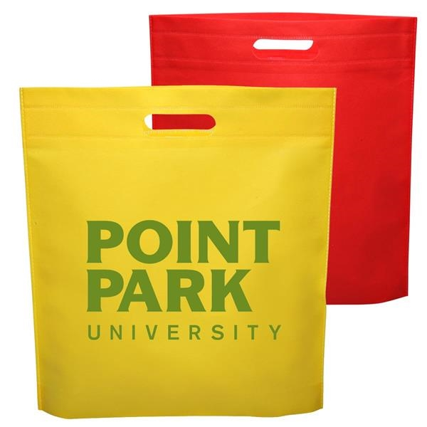 Large Reusable Non Woven Tote bag w/100% Recyclable Material