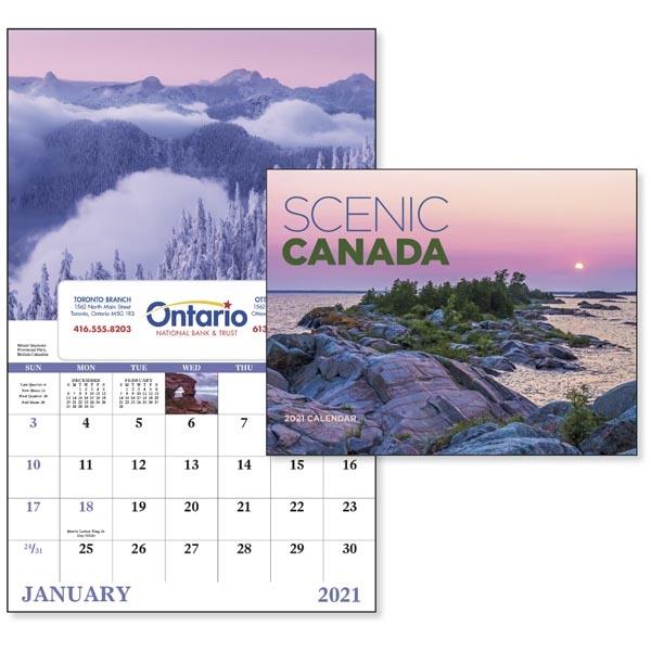 Window Scenic Canada 2022 Appointment Calendar