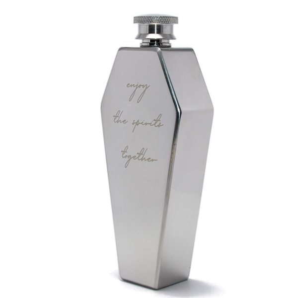 Coffin Flask