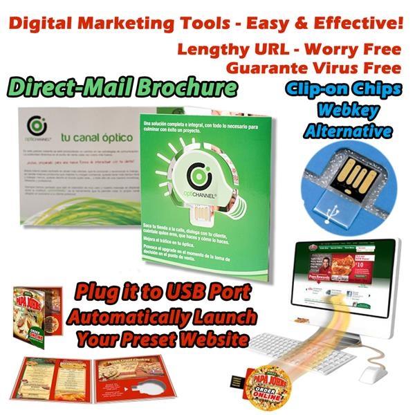Paper USB Flash Drive Brochure