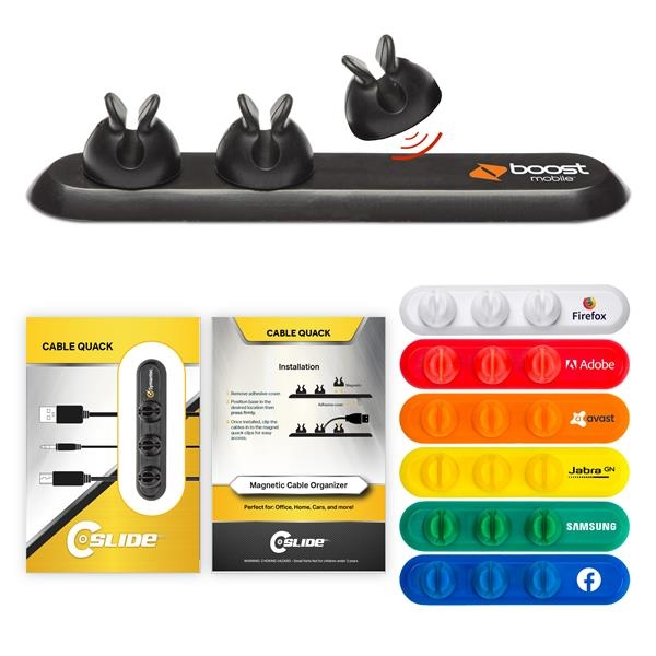 Cable Organizer 3 Clips with Standard Packaging