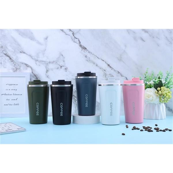 Coffee mug stainless steel tumbler vacuum cup