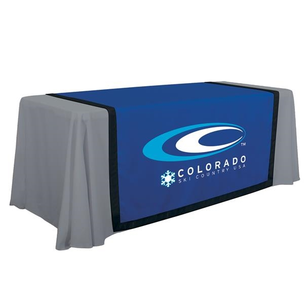 """57"""" Accent Table Runner (Full-Color Front Only)"""
