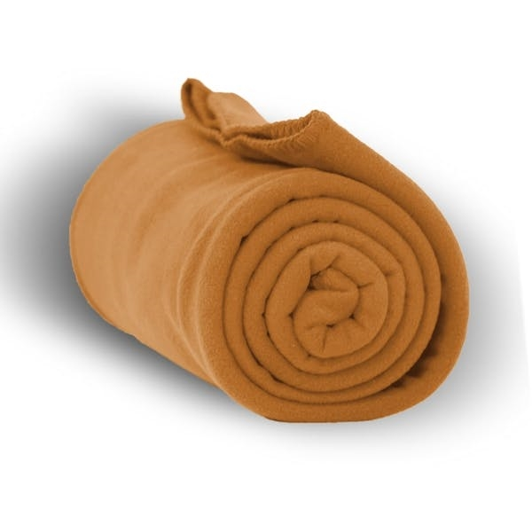 Premium Fleece Blanket 50 x 60 - Camel