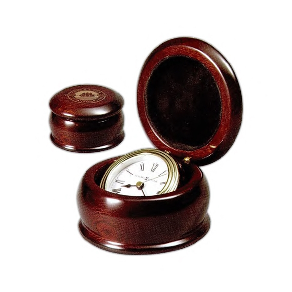 Westport - Gimbaled Clock For Easy Viewing, Is Housed In A High-gloss Rosewood Hall Finished Photo