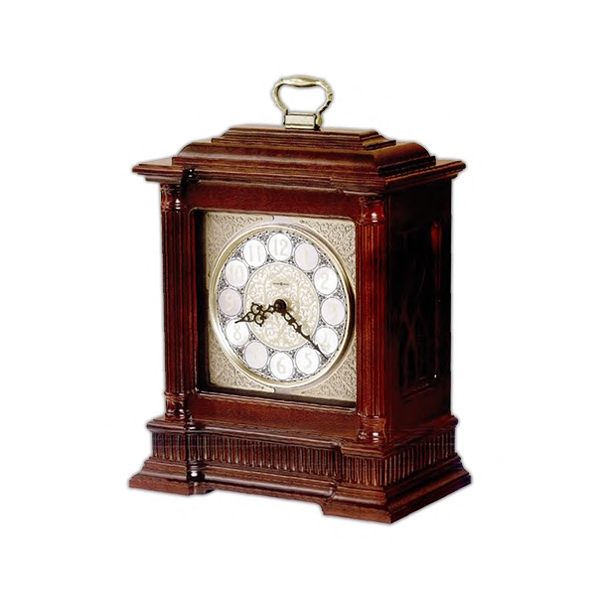 Akron - Bracket Style Clock Finished In Cherry On Select Hardwoods And Veneers Photo