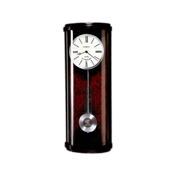Cortez - Contemporary Wall Clock Finished In Black Satin On Hardwoods And Veneers Photo