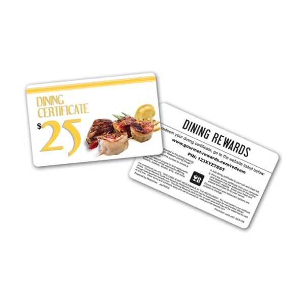 Dining Rewards Card