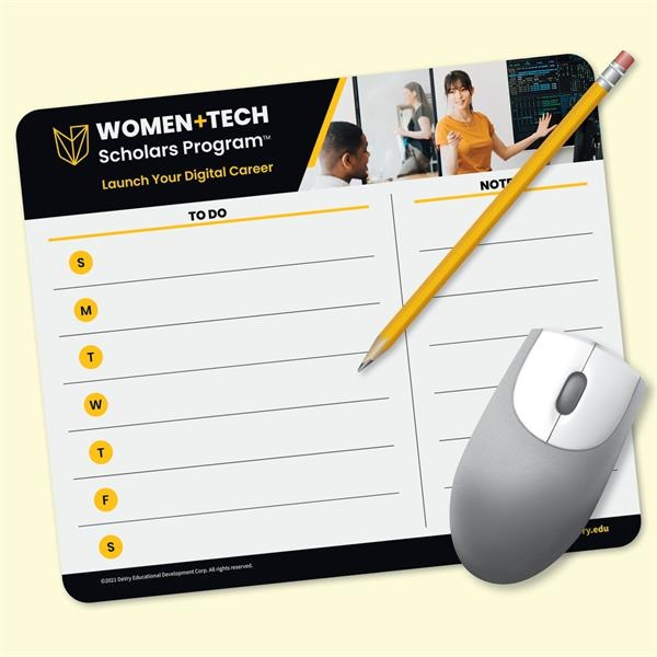 MousePaper®40 Page - Recycled Note Paper Mouse Pad