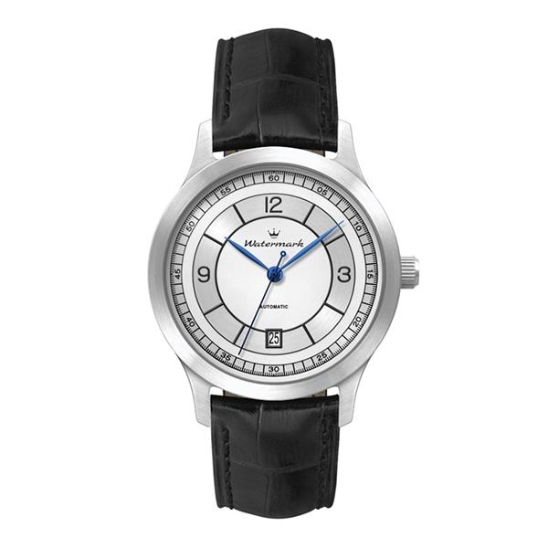 """40MM STEEL SILVER CASE, 3 HAND """"AUTOMATIC"""" MVMT, """"..."""