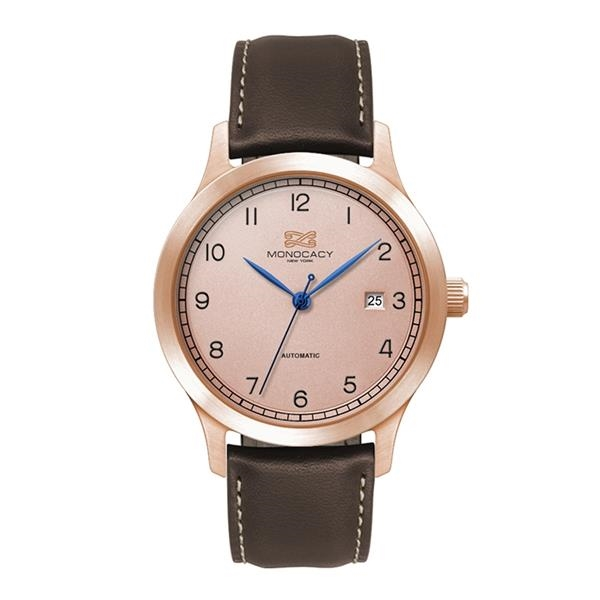 """40MM STEEL ROSE GOLD CASE, 3 HAND """"AUTOMATIC"""" MVMT..."""
