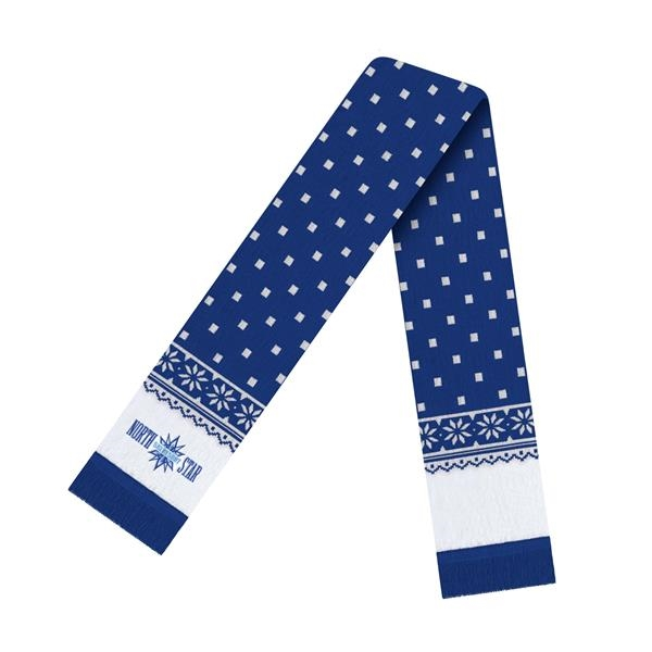 In Stock Snowflake Scarf