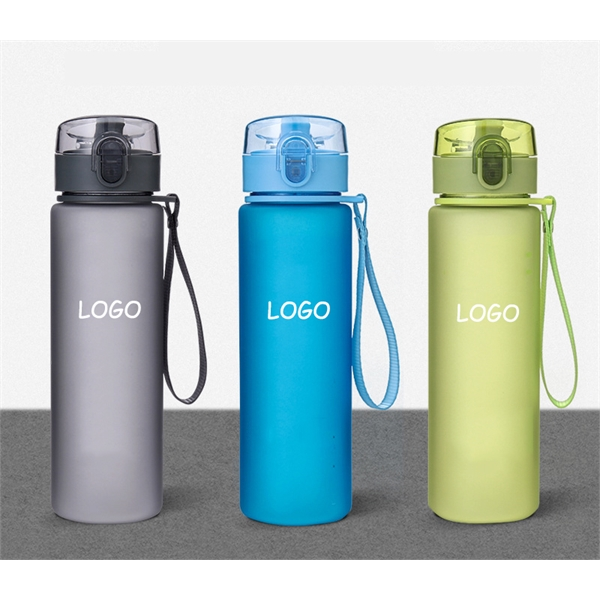 19 oz. Sports Water Bottle with Spout Lid
