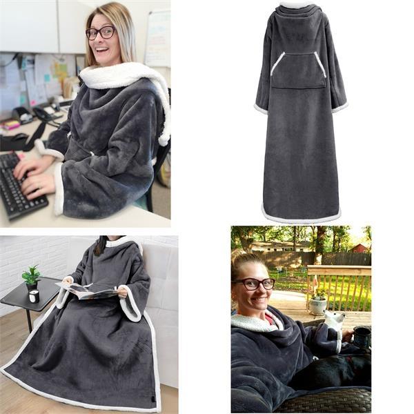 Wearable TV Blanket