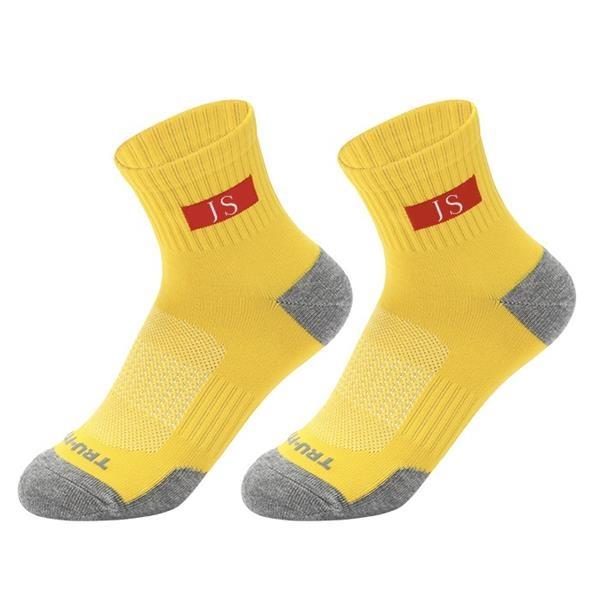 Quarter Calf Ankle Socks w/ 200 Needle Jacquard Weave Fabric